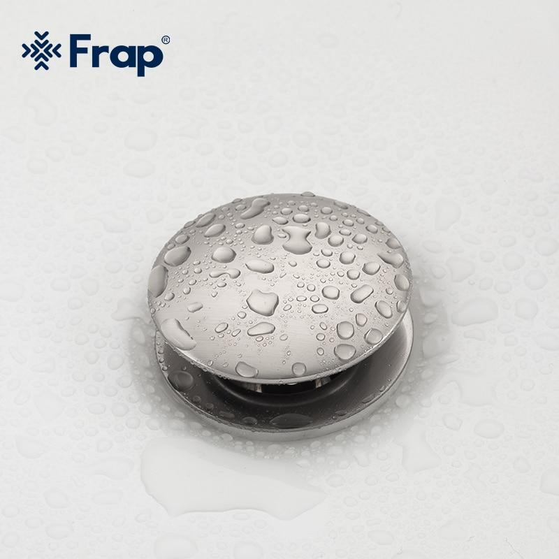 Realistic Frap Bathtub Drain Basin Sink Tap Drain Bath Overflow Hole Push Button Pop Up Clack Waste Plug Kitchen Sinks Drains F62