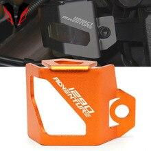 สำหรับKTM 1290 1090 1190 Super Adventure/R/S/T Duke R/ผจญภัย/Sปีรถจักรยานยนต์ด้านหลังFluid Reservoir Guard Cover Protector
