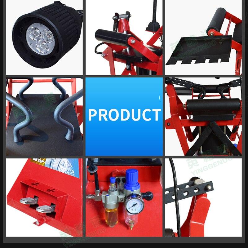 Máquina de expansión de neumáticos de mantenimiento automático máquina de reparación de neumáticos de soporte de neumáticos máquina de corte de neumáticos con neumático ligero de trabajo - 6