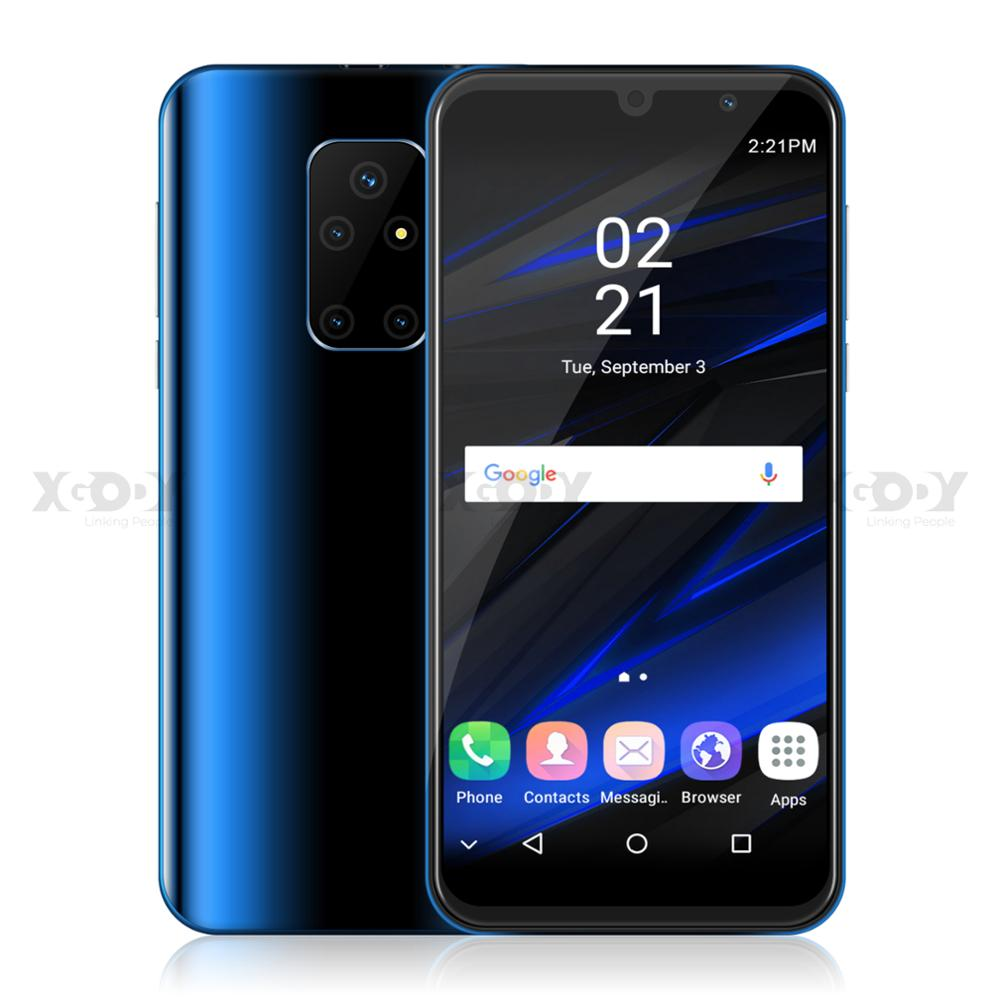 "XGODY Dual 3G Sim Smartphone <font><b>Android</b></font> 9.0 5.5"" 18:9 Full Screen 1GB 4GB MTK6580 Quad Core 5MP Camera 2200mAh Mobile Phone"