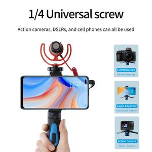 Image 5 - TELESIN Mini Selfie Stick ขาตั้งกล้อง360 ° Ball Head & เย็นรองเท้าคลิปโทรศัพท์สำหรับ GoPro Osmo Action Insta360 iPhone android Monopod