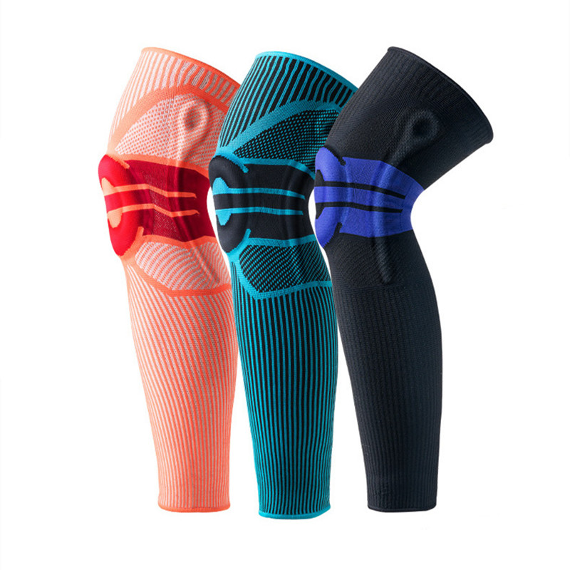 ZYSK 1PCS Women Men Knee Protector Breathable Warm Basketball Volleyball Sports Safety Kneepad Warmers Training Elastic Support