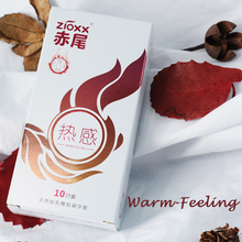condom Stimulation Lubricated Pleasure Condoms Cold and Warm alternating Type Natural Latex Rubber Safer Condom for Men Sex Toys