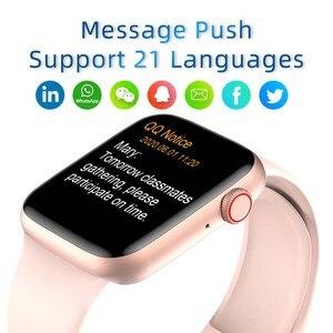 Image 4 - Originele Smart Horloge Mannen Vrouwen Hartslagmeter Bloeddruk Smartwatch IP68 Thermometer Ecg Bluetooth Oproep