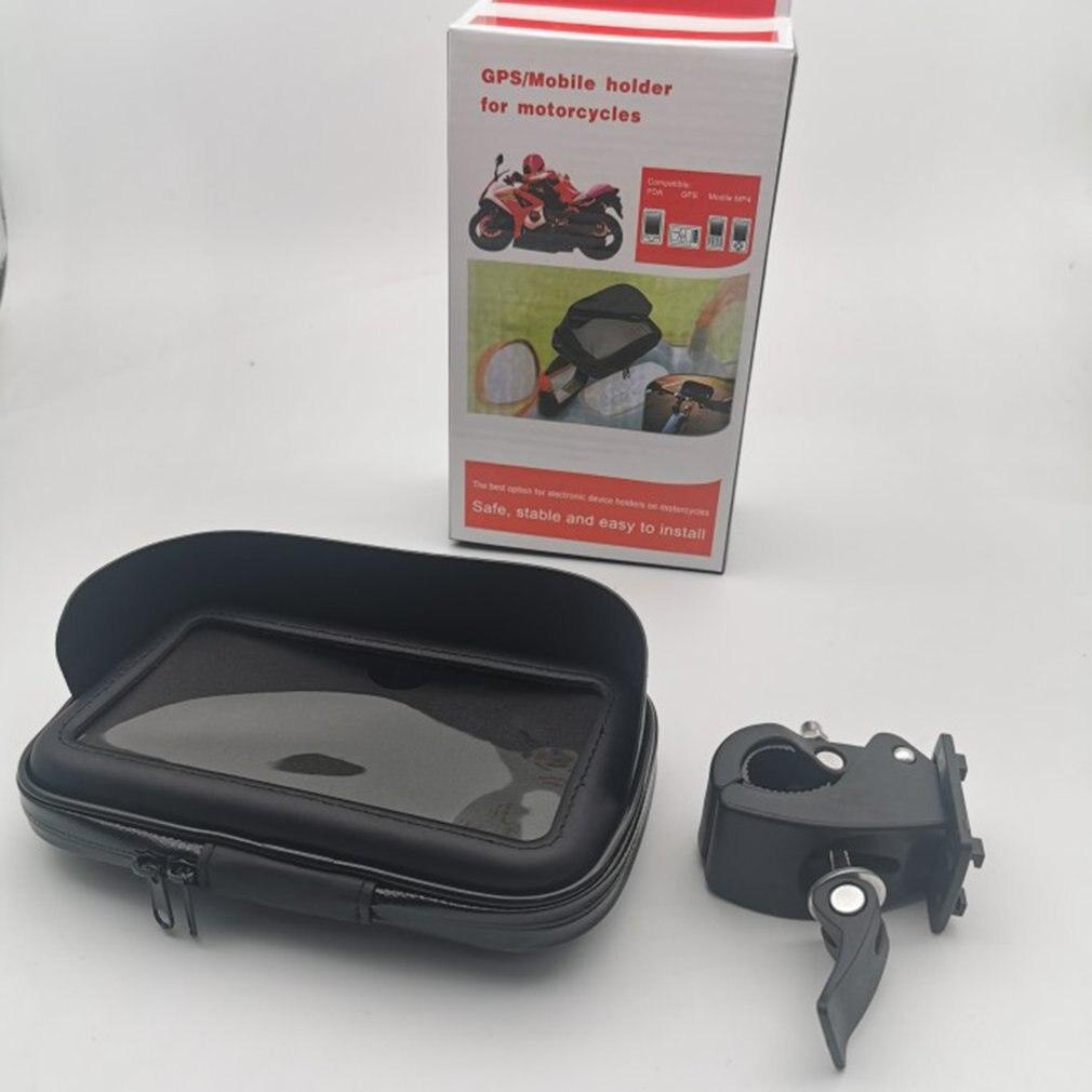 Motorcycle Holder Bike Holder Smartphone Cellphone Bike Bag Universal 6.3 Inch Motorcycle Waterproof Mobile Phone Bracket