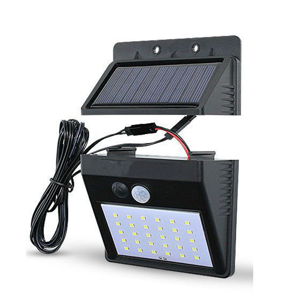 lowest price 1 2 4pcs Solar Light 100 LEDs Solar Lamp PIR Motion Sensor Wall Light IP65 Waterproof Solar Garden Lights Outdoor Security Light