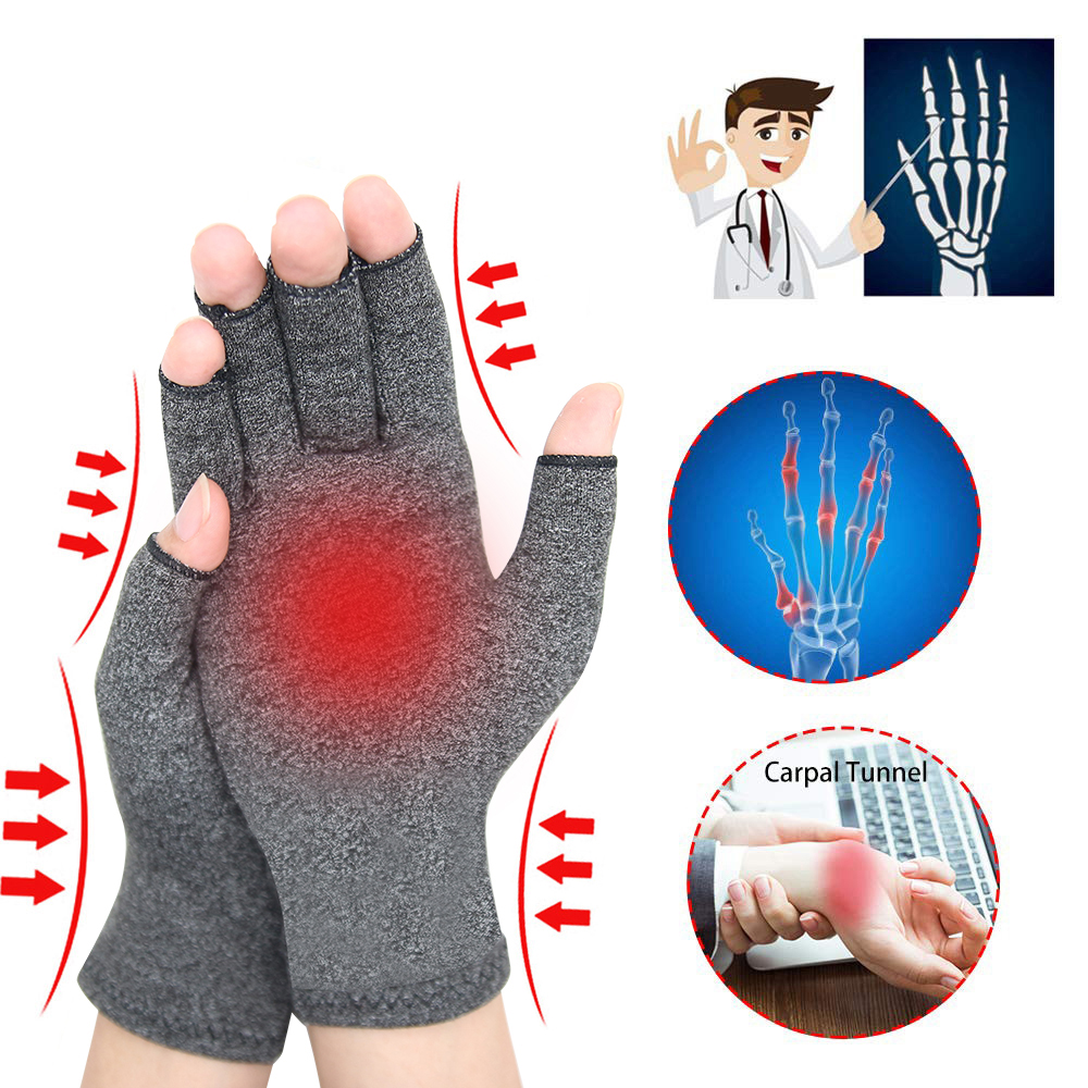 Men Women Rheumatoid Compression Gloves For Osteoarthritis Arthritic Joint Hand Pain Relief Wrist Support Glove