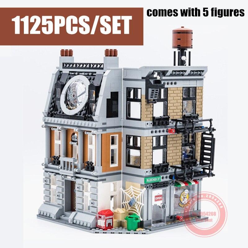 New DR Strange Sanctum Sanctorum Showdown Fit Legoings Avengers Marvel Figures Building Block Bricks Kid Gift Birthday Boy