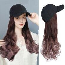 Длинная синтетическая бейсбольная кепка с волосами 22 дюйма