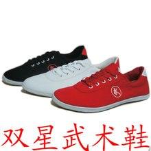 Китайская обувь кунг-фу, черные туфли Tai chi и Taiji кожаные туфли Wu shu для мужчин или женщин, военные художественные изделия тхэквондо