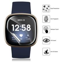 Protective-Film Screen-Protector Versa Fitbit Hydrogel Soft for 3/Sense 2pcs