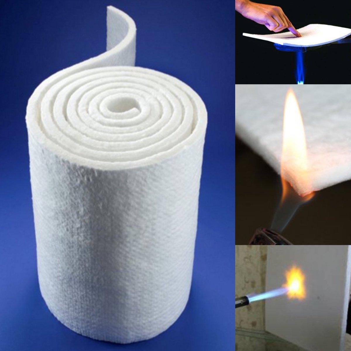 Aerogel de Sílica Sólido para Dutos Super Leve Hidrofóbica Isolamento Térmico Mat Tapete Macio Bloco Industriais Branco 30x140cm 3 – 6 10mm