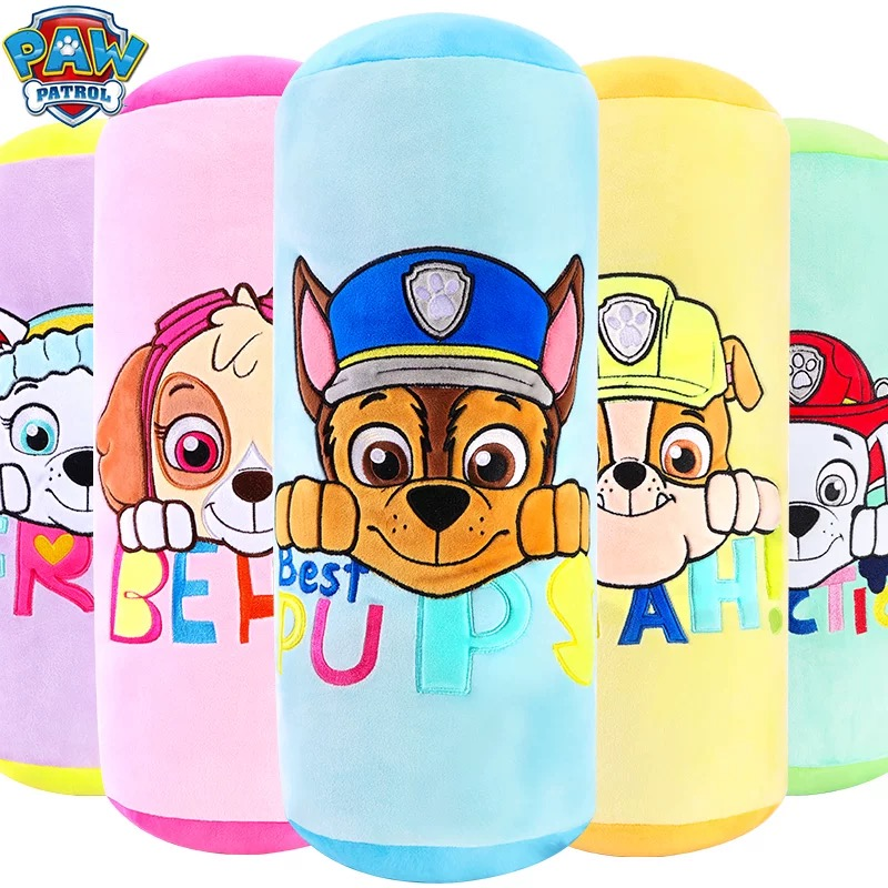 1pc Original Genuine Paw Patrol Plush Pillow Skye Rubble Chase Everest Model Sofa Cushion Children's Nap Pillow Toy Gift