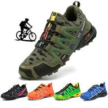 Chaussures de cyclisme pour hommes chaussures de vélo de route VTT chaussures de vélo vtt chaussures de course réfléchissantes