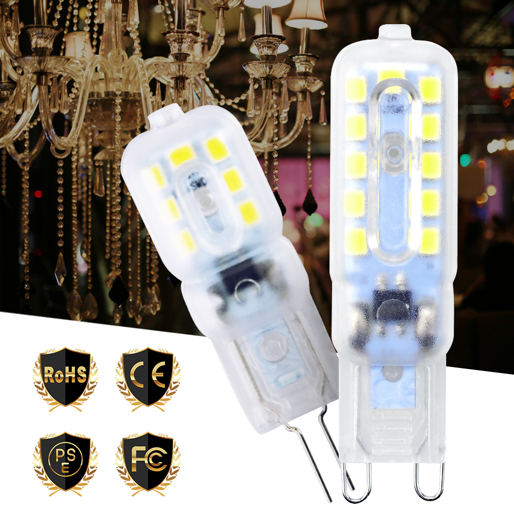 Mini G9 Bulb LED Corn Light Dimmable SMD 2835 G4 LED Bulb Lights For Chandelier 3W 5W Bombillas LED Bulb 360 Degree Ampoule Luz