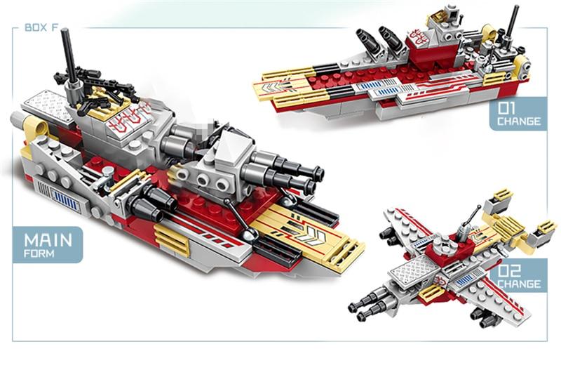 1000+ PCS Military Warship Navy Aircraft Army Figures Building Blocks LegoINGlys Army Warship Construction Bricks Children Toys (15)