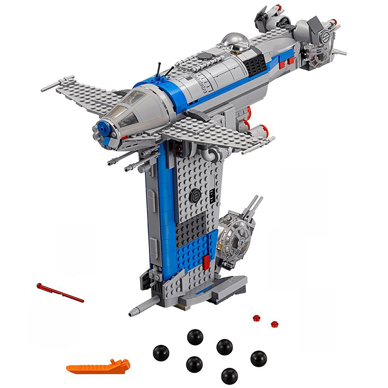 2019 NEW 05129 Rebel Bomber Set Star Toys Wars Classic Series Building Blocks Bricks Compatible with Starwar <font><b>75188</b></font> image