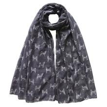 Шиба ину Собака печати женский шарф шаль обернуть мягкий легкий для всех сезонов