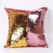 Home Decorative Pillowcases Christmas Gifts Fashion Beauty Double 40X40CM Color Glitter Sequins Throw Pillow Case