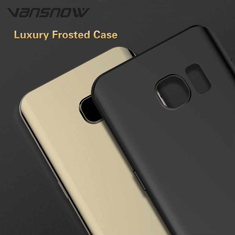 Vansnow Роскошный чехол для телефона для samsung Galaxy A7 A9 A8 J4 J6 плюс 2018 S8 S9 Plus Note 9 8 J3 J5 J7 A6s задняя крышка, бесплатная доставка