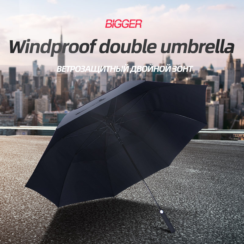 <font><b>Big</b></font> <font><b>Golf</b></font> <font><b>Umbrella</b></font> Men Strong Windproof Semi Automatic Long Handle <font><b>Umbrella</b></font> large Man And Women's Business <font><b>Umbrellas</b></font> Custom logo image