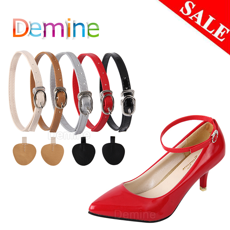 1Pair Fashion Women Shoelaces For High Heels Adjustable Shoe Belt Ankle Holding Loose Anti-skid Bundle Laces Tie Straps Band