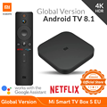 Global Version Xiaomi Mi Smart TV Box S 4K HDR Android TV Streaming Media Player and Google Assistant Remote Smart TV MiBox S