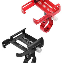 Bike-Phone-Holder Support-Handlebar-Clips Bicycle-Stand Scooter Motorcycle-Mount Aluminum