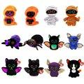 Ty животные серия Хэллоуин игрушки летучая мышь паук Кот умыватель животное