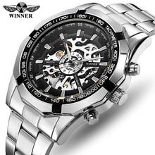 WINNER Men Watch Top Luxury Brand Mens Self Winding Mechanical