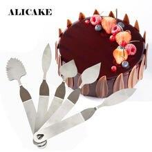 Couteau à feuille en plume de chocolat en acier inoxydable, outils de modélisation Mousse au chocolat, outils de décoration pâtisserie pour boulangerie