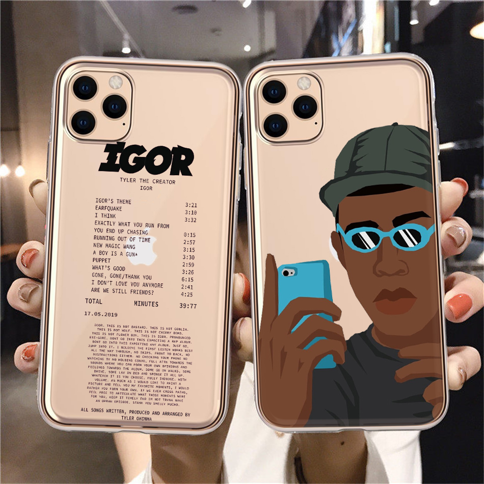 Tyler the creator Golf IGOR bees Silicone Soft TPU Back Phone Case For iPhone 8 7 6 Plus X XS 11 12 Pro MAX XR Funda Coque