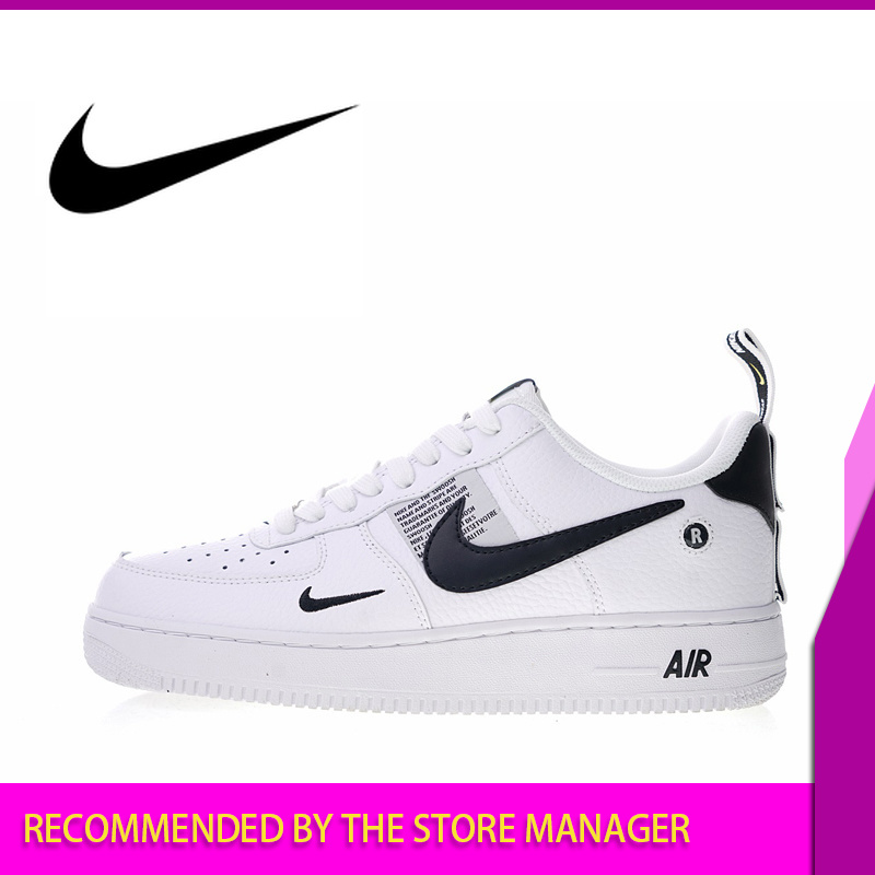 Nike Sneakers Footwear Skateboarding-Shoes Utility-Pack Air-Force Athletic-Designer Authentic