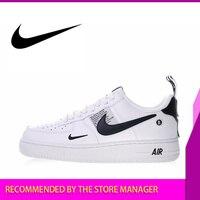 Original Authentic Nike Air Force 1 07 LV8 Utility Pack Men's Skateboarding Shoes Sneakers Athletic Designer Footwear 2018 New