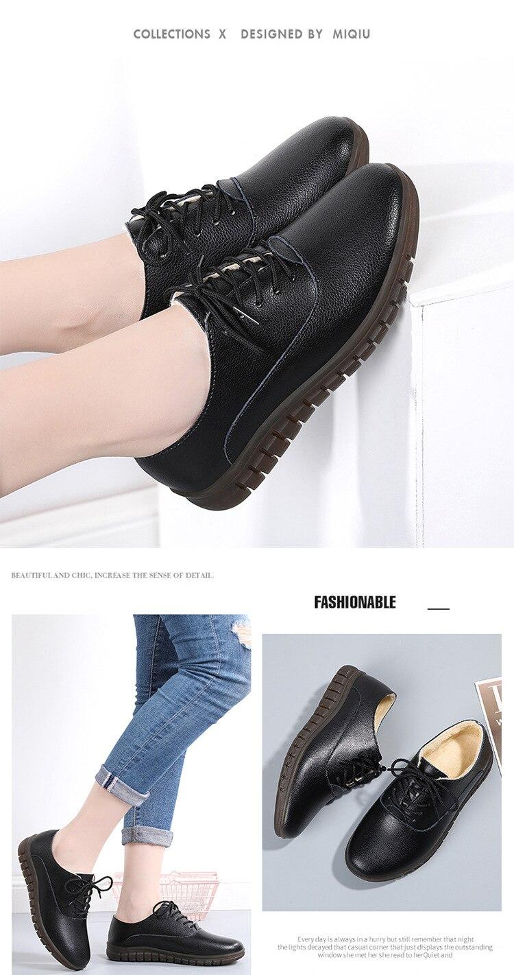 sapatos femininos senhoras plataforma sola macia oxfords