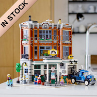 10264 IN STOCK Creator Corner Garage 15042 2569Pcs Street View Model Building Blocks Bricks Kids Education Toys