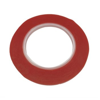 25M/Roll Waterproof Red Film Transparent Double Side Adhesive Tape 1mm /2mm/5mm/8mm Width High Temperature Resistance Tape. 40mm width 25m length 0 2mm thickness double sided thermal conductive adhesive tape thermal tape transfer tape for pcb heatsink