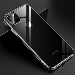 Image 3 - עבור iPhone 11 12 מקרה Slim נקה רך TPU כיסוי תמיכה אלחוטי טעינה עבור iPhone 12 11 פרו מקס 5.8in 6.1in 6.5in X XR XS מקסימום