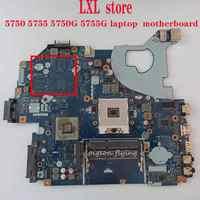 P5WE0 LA-6901 for ACER Aspire 5750 5755 5750g 5755g laptop motherboard HM65 DDR3 1066MHz  REV: 2.0 100% test OK
