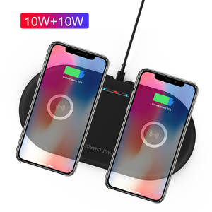 Wireless-Charger Airpods QI 2-Charging-Station iPhone Xs Fast 10W 20W for Max-Xr Pad