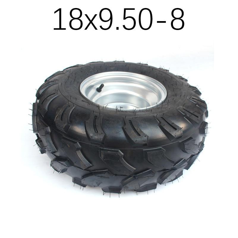 "Tyre Tire 150cc 200 Quad Dirt Bike ATV Buggy 2X 18X9.50-8/"" inch Rear Wheel Rim"