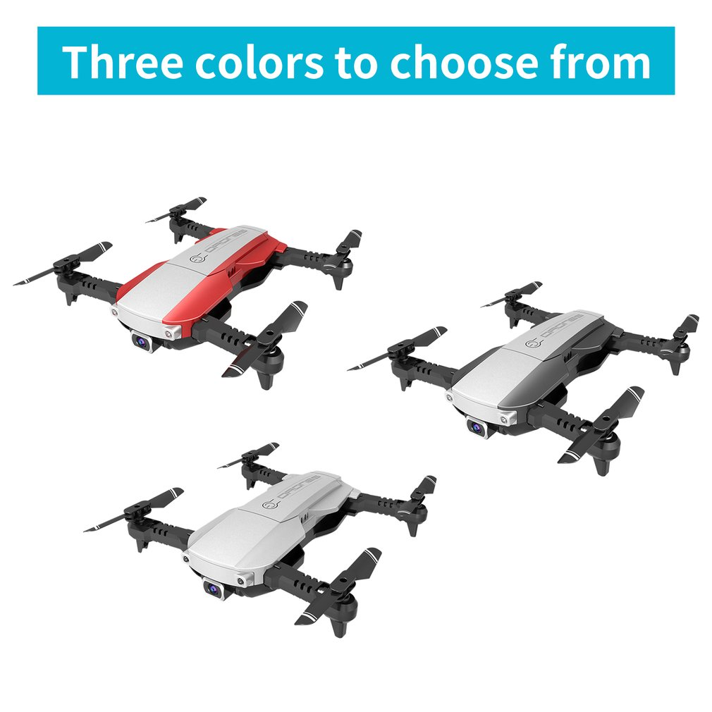 Foldable 2.4GHz <font><b>WiFi</b></font> FPV <font><b>Drone</b></font> <font><b>4K</b></font> <font><b>Camera</b></font> <font><b>RC</b></font> <font><b>Drone</b></font> Real-time Transmission <font><b>Aircraft</b></font> Toy with 3 Battery image