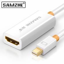 SAMZHE Mini DisplayPort to HDMI Adapter Thunderbolt to HDMI Converter for Apple MacBook Air/Pro, Microsoft Surface Pro/Dock