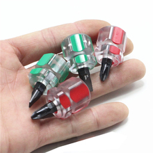 1Pc Mini Small Portable Screwdriver Kit Set Cross Phillips/Slotted Car Repair Hand Tool / Color Random цены