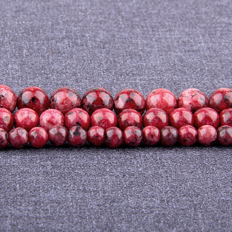 Natural Red Agat Gem Stone Polished Carnelian Chalcedony Round Loose Beads 4-16MM Onyx Fit DIY Necklace Beads For Jewelry Making