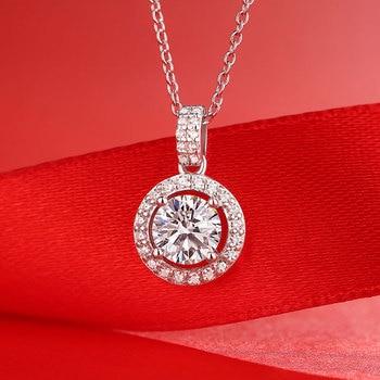 Noble Pendant Necklaces For Women Luxury Pendant Necklaces For Female Fashion Girl Necklace Ladies Silver Necklaces Pendants