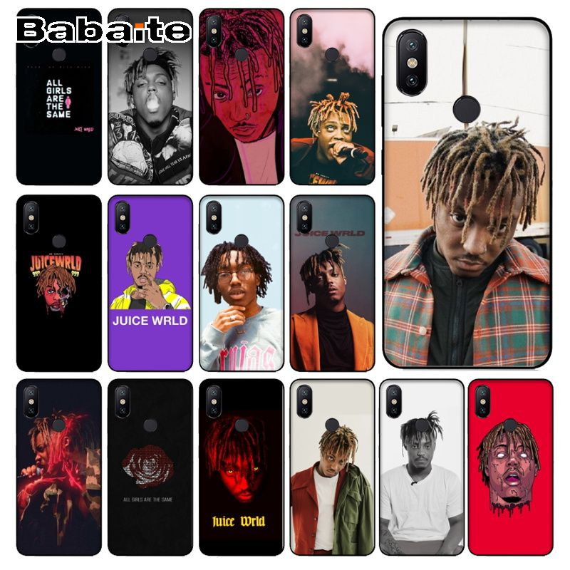 coque for <font><b>redmi</b></font> note7 Juice WRLD <font><b>99</b></font> Soft Silicone Phone Case Cover For <font><b>redmi</b></font> 5plus 5A note7 6pro 4 note5A 7 note6pro coque image