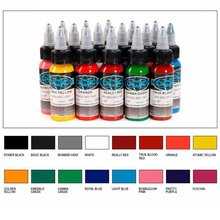 Tattoo Equipment Fusion Color 16 Ordinary Ink Artist Professional Dye