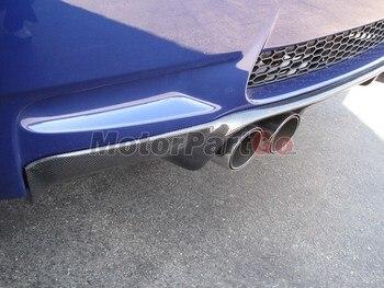 REAR Carbon Fiber  DIFFUSER FOR BMW E92 E93 M3 BUMPER 2007-2013 B076 1