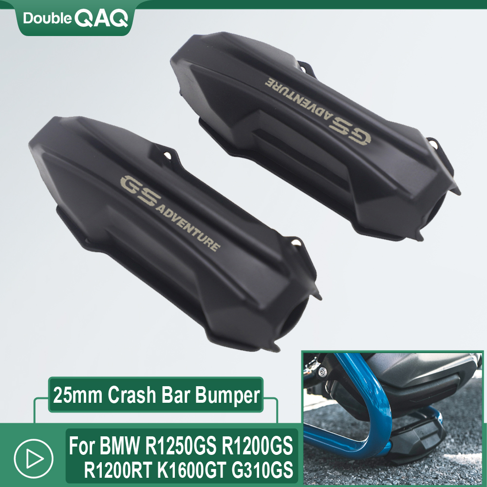 For <font><b>BMW</b></font> R1250GS R1200GS ADV Adventure G310GS K1600GTL <font><b>1200RS</b></font> Motorcycle Crash Bar Bumper Engine Guard Protector Decorative Block image